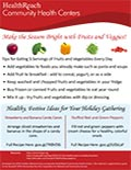 Make the season bright with fruits and veggies!